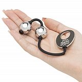 Вагинальные шарики Fifty Shades of Grey Inner Goddess Mini Silver Pleasure Balls